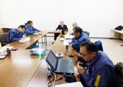安全・品質・改善会議の様子